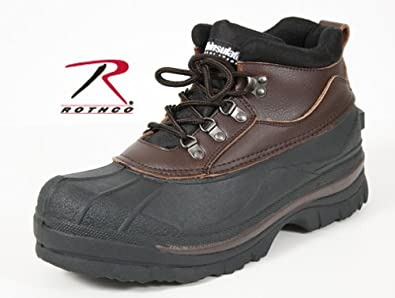 Mens Boots - Duck Boots, Brown, 5 Extra Wide by Rothco
