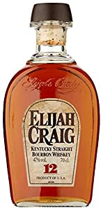 Elijah Craig 12 Year Old Bourbon Small Batch Whiskey 70 cl