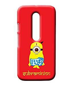 EETEE Subraminion Pop Culture Red Phone case for Moto G3