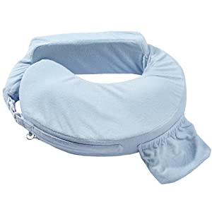 My Brest Friend Deluxe Pillow, Blue
