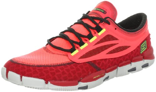 Skechers Skechers Men's Go Bionic Prana Running shoe,Red,10.5 M US