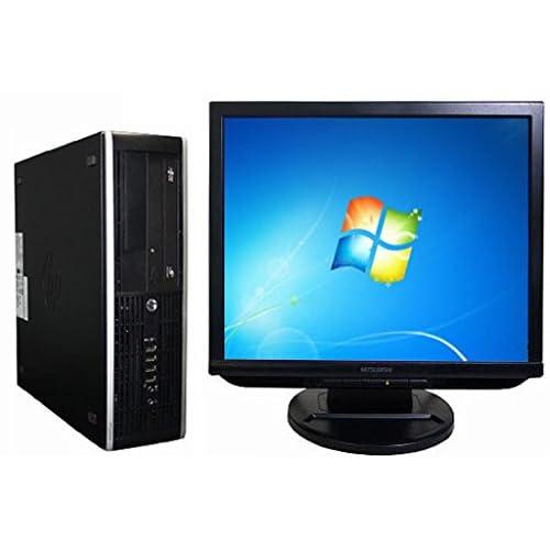 中古 デスクトップパソコンHP 6200Pro SFF (126917)【液晶セット】【Windows7 64bit搭載】【Core i3搭載】【メモリー4096MB搭載】【HDD500GB搭載】【DVDマルチ搭載】