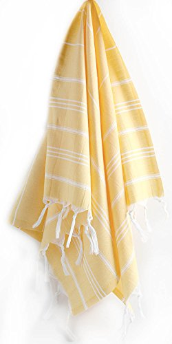 "Hand Face Turkish Towel Pestemal 23 X 36"" Peshtemal Fouta Kitchen Baby Care By Cacala ""Apricot"""