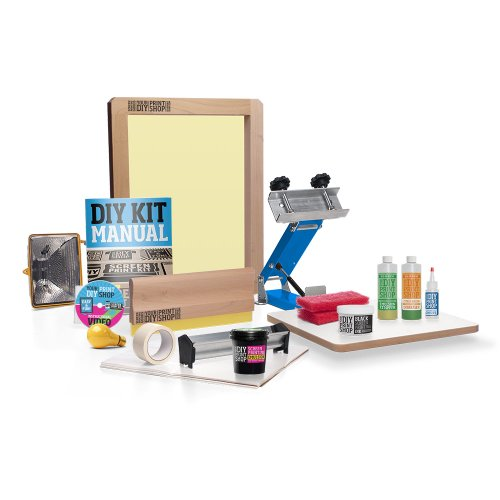 DIY PRINT SHOP Awesome Gig Poster Screen Printing Kit (Tabletop Screen Printing Press compare prices)