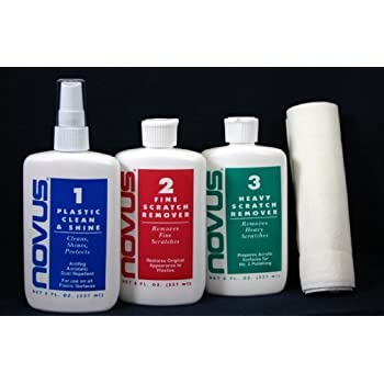 Set A Shopping Price Drop Alert For Novus 8 oz Polish Kit, Plastic Cleaner, Polish & Scratch Remover
