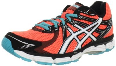 Asics Women'S Gt-2000 Running Shoe,Electric Melon/White/Turquoise,12.5 M Us