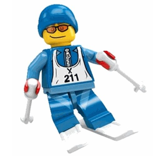 Lego Minifigures Snowboarder Lego Minifigure Collection
