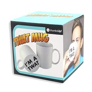 Thumbs Up! I'm a Twat Surprise Mug