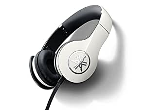 Yamaha PRO 300 High-Fidelity On-Ear Headphones (Ivory White)