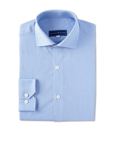 Alton Lane Men's Poplin Dress Shirt with French Placket