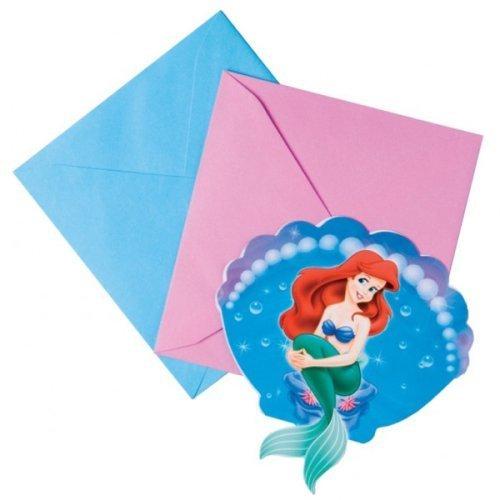 Ariel Carte D'invitation Pour Fête, lot de 6