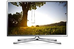 """Samsung UE46F6400 TV LCD 46"""" (116 cm) LED HD TV 1080p 3D Smart TV avec Wi-Fi intégré 2 paires de lunettes 3D 200 Hz 4 HDMI 3 USB Gris fumé Classe: A (Import Belgique)"""