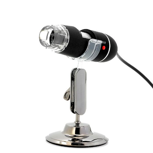 Usb Digital Microscope - 400X Zoom, 8 Super-Bright Leds, Video And Picture Capture