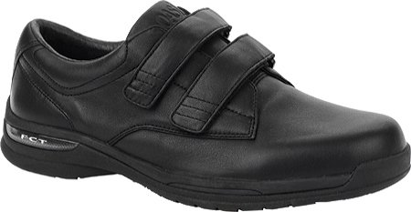 Oasis Men's Nevis Hook & Loop Orthotic Shoes,Black,7 M US (Black Oasis Shoes compare prices)