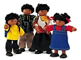 Pintoy Wooden Doll Family - Ethnic