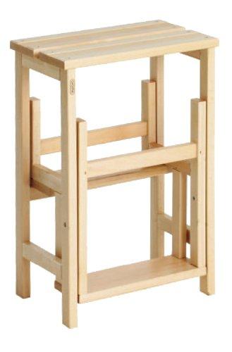 Sgabello in legno Suegiù