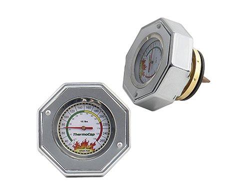 Mr. Gasket 2471Sdomestic Thermocap 16 Psi-Slvr