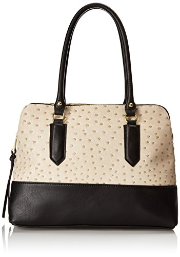 emilie-m-linda-compartment-satchel-cream-ostrich-black-one-size