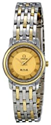 Omega Womens 4370.12 DeVille Champagne Dial Watch