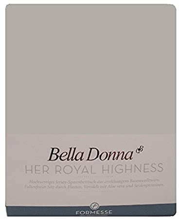 Bella Donna sábana bajera 200/220 - 200/240 cm - 0701 (Gris)