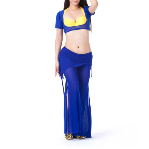 BellyLady Belly Dance Costume, Belly Dance Bra & Pants, Halloween Gift Idea