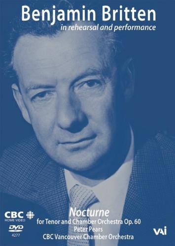 Britten - in Rehearsal and Performance [1962] [DVD] [US Import] [NTSC]