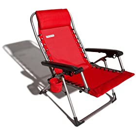 Strathwood Multi-Position Beach and Pool Lounge Chair
