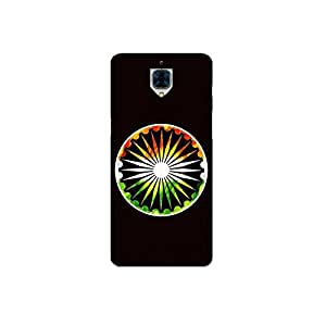 one plus 3 nkt09 (12) Mobile Case by Mott2 - Indain Flag Ashok Chakra (Limited Time Offers,Please Check the Details Below)