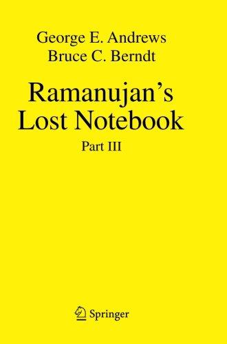 Download Ramanujan's Lost Notebook: Part III
