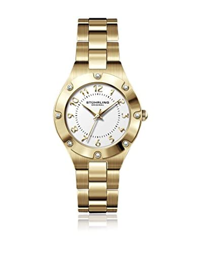 Stührling Original Reloj de cuarzo Civil Elite 548.04 Dorado 23  mm