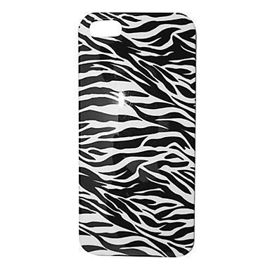 Black and White Zebra Stripe Phone Case [Customizable by Buyers] [Create Your Own Phone Case] Slim Fitted Hard Protector Cover for iphone 6 Plus 5.5inch