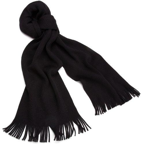 应季佳品,HUGO BOSS Albas 男款纯羊毛围巾图片