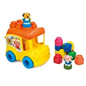 Baby Clemmy - School Bus with 10 Soft Blocks