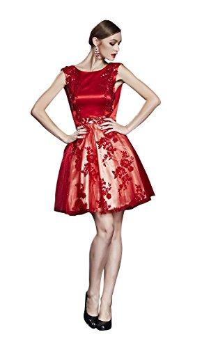 Beauty-Emily-Coctel-de-la-tarde-del-O-Cuello-del-cordn-del-bordado-apliques-sin-espalda-vestido