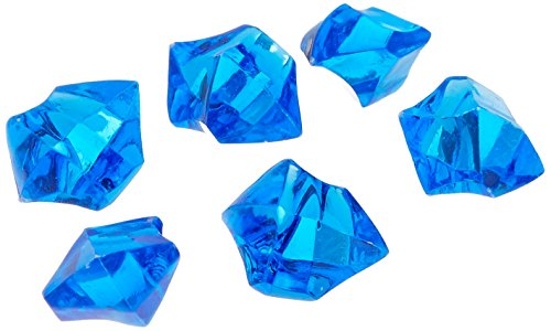 Tanday 1 Pounds Royal Blue Acrylic Ice Rock Vase Filler Gems or Table Scatter (Royal Blue Ice Gems compare prices)