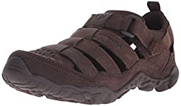 Merrell Men\'s Telluride Wrap Sandal, Clay, 11 M US