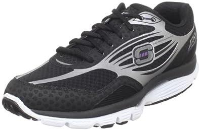 Skechers Women's ProSpeed Fashion Sneaker,Black/Silver,9.5 M US