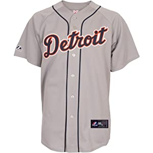 Buy Majestic Athletic Detroit Tigers Blank Replica Road Jersey by Majestic Athletic
