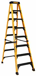 DeWalt DXL3810-08 8-Feet Fiberglass Stepladder Type IAA Manufacture Tested To 500-Pounds, 8-Feet