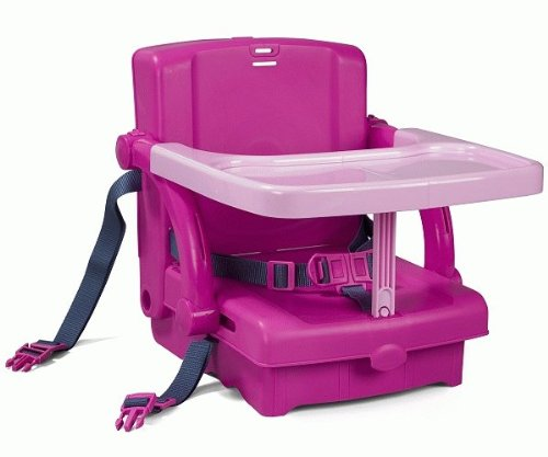 Kids Kit Portable Booster Seat - Pink