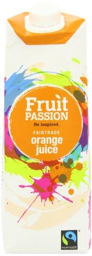 Fruit Passion Orange Juice 1 Litre (Pack of 4)