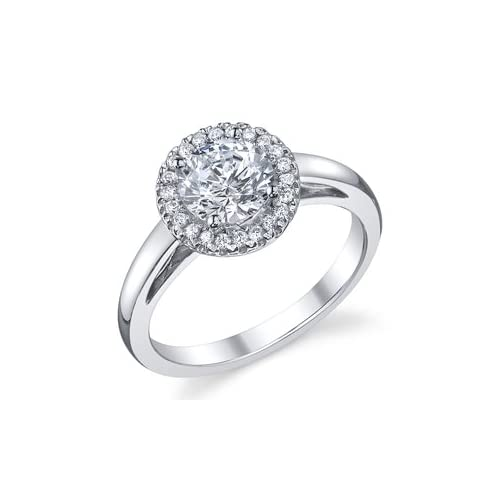 halo ring with plain band halo cushion cut