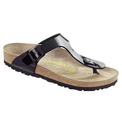 Birkenstock Gizeh Ladies / Womens Sandals (35 EUR) (Black/Patent)