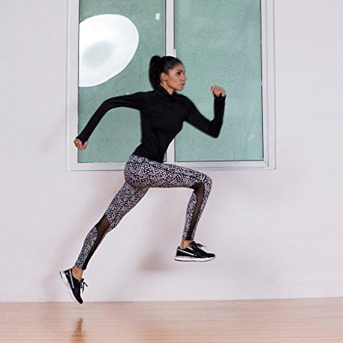 2-Fitness Women's Yoga Pants Cool Black XL