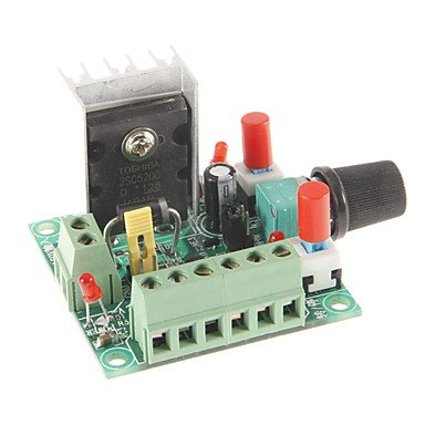 Zcl Jtron Speed Reversible Control Simple Stepper Motor Controller / Pwm Generator Controller - Green