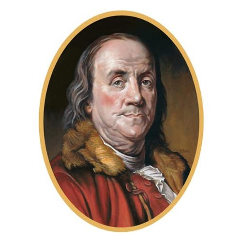 Ben Franklin Cutout Party Accessory (1 count)