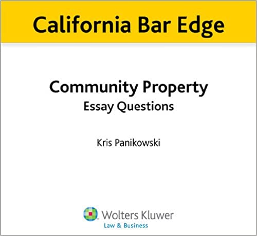 california state law essay