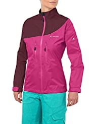 Vaude Womens Tremalzo Rain Jacket - Grenadine - 34 - Womens lightweight windproof rain jacket