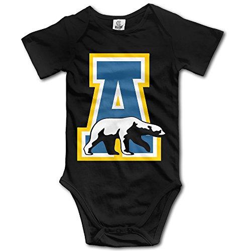 OOKOO Baby's University Of Alaska Fairbanks Bodysuits Black 18 Months