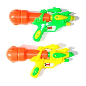 Water Squirt Gun for Kids with Dolphin-topped Design Set of 2
